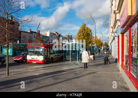 High Street Stockton on Tees, contender for the Great British High Street competition autumn 2016 - Stock Photo