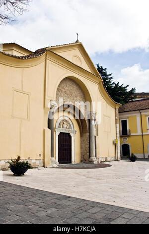 Church of Santa Sofia Benevento, Archeological Museum, Campania, Italy, Europe - Stock Photo