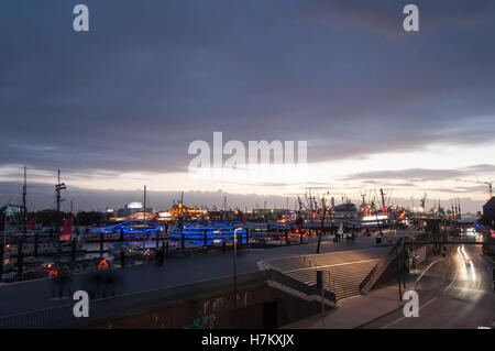 Port of Hamburg - Stock Photo