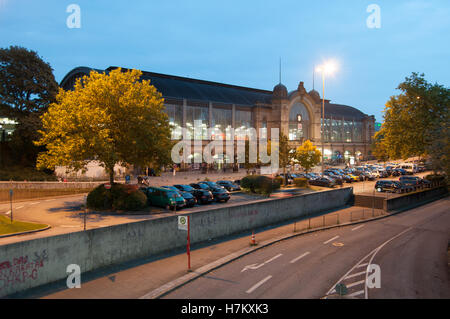 train station dammtor hamburg germany stock photo royalty free image 16451972 alamy. Black Bedroom Furniture Sets. Home Design Ideas