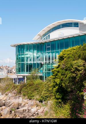 The National marine aquarium in Plymouth, Devon, England, UK - Stock Photo