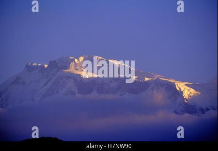 Annapurna Mountain range, Pokhra, Nepal - Stock Photo
