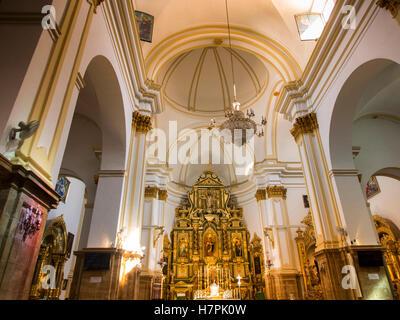 Nuestra Señora de la Encarnacion church, Old Town Marbella. Costa del Sol, Málaga province. Andalusia, Spain Europe - Stock Photo
