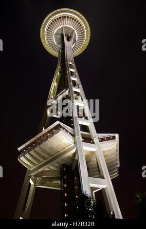Seattle Space needle - Stock Photo