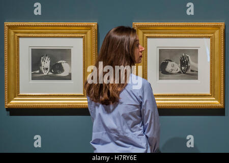 London, UK. 8th Nov, 2016. Works by Man Ray - The Radical Eye: Modernist Photography from The Sir Elton John Collection, - Stock Photo