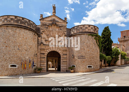 Pable Espanol  Spanish village an open-air museum in Palma de Mallorca. It located in the district of Son Espanolet. - Stock Photo