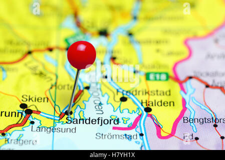 Sandefjord Norway Stock Photo Royalty Free Image Alamy - Norway map sandefjord