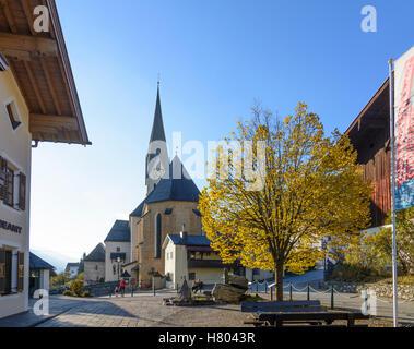 Stuhlfelden: church, Pinzgau, Salzburg, Austria - Stock Photo