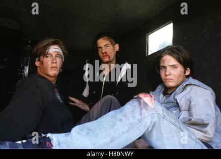 Blutiger Ernst, Kriminalfilm D 1997, Regie : Bernd Böhlich, KEN DUKEN, JULIAN MANUEL, DANIEL BRÜHL, Stichwort: Wunden - Stock Photo