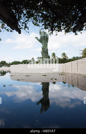Holocaust Memorial Museum. Miami Beach, Florida, In memory of the 6 million Jewish victims of the Holocaust. - Stock Photo