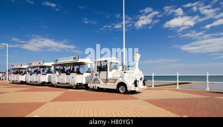 The Land Train in Bridlington - Stock Photo