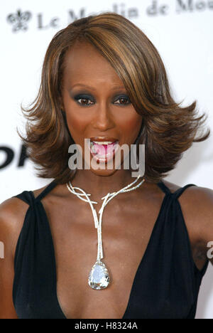 IMAN CANNES FILM FESTIVAL CANNES CANNES FRANCE 23 May 2002 - Stock Photo