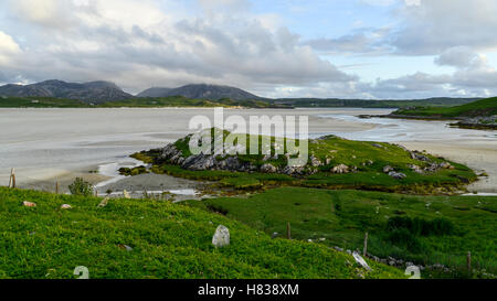 Baile-na-Cille Burial Ground - Stock Photo