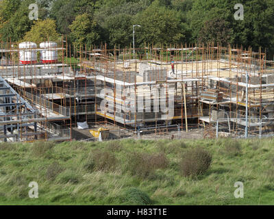 Houses under construction - Stock Photo