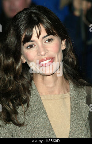 LISA B 'CATCH ME IF YOU CAN' PREMIERE EMPIRE THEATER LEICESTER SQ LONDON ENGLAND 27 January 2003 - Stock Photo