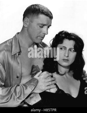 Die tätowierte Rose, (THE ROSE TATTOO), USA 1955 Regie: Daniel Mann BURT LANCASTER, ANNA MAGNANI - Stock Photo