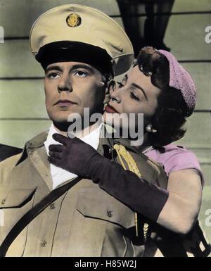 Die große und die kleine Welt, (THE AMBASSADOR'S DAUGHTER) USA 1956, Regie: Norman Krasna, JOHN FORSYTHE, OLIVIA - Stock Photo