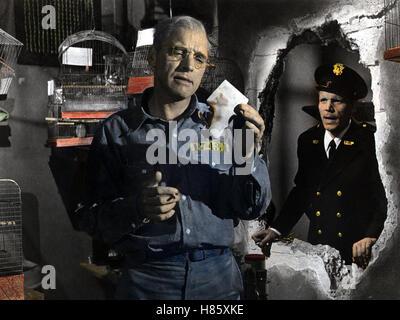 Der Gefangene von Alcatraz, (BIRDMAN OF ALCATRAZ) USA 1961, Regie: John Frankenheimer, BURT LANCASTER, NEVILLE BRAND, - Stock Photo