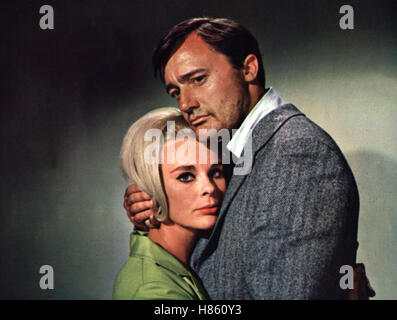Mitternacht Canale Grande, (VENETIAN AFFAIR) USA 1966, Regie: Jerry Thorpe, ELKE SOMMER, ROBERT VAUGHN - Stock Photo