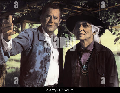Smith - Ein Mann gegen alle, (SMITH) USA 1969, Regie: Michael O'Herlihy, GLENN FORD, CHIEF DAN GEORGE - Stock Photo