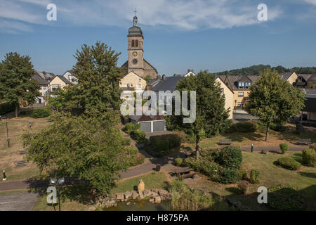 Hillesheim; Germany; Brian Harris - Stock Photo