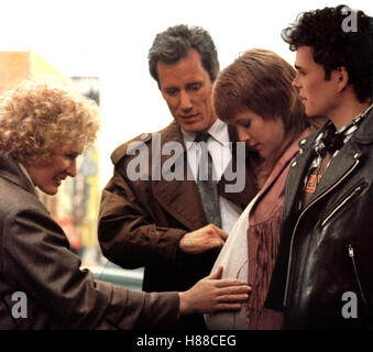 Die Second-Hand Familie, (IMMEDIATE FAMILY) USA 1989, Regie: Jonathan Kaplan, GLENN CLOSE, JAMES WOODS, MARY STUART - Stock Photo