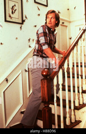 Arachnophobia, (ARACHNOPHOBIA), USA 1990, Regie: Frank Marshall, JEFF DANIELS, Stichwort: Spinnen, Treppe - Stock Photo