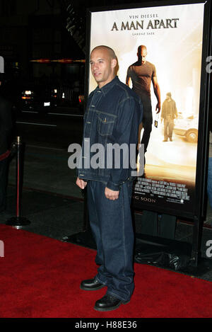 VIN DIESEL A MAN APART (2003 Stock Photo, Royalty Free ...