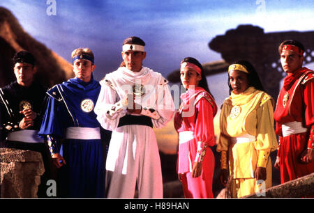 Power Rangers - Der Film, (MIGHTY MORPHIN POWER RANGERS - THE MOVIE), USA 1995, Regie: Bryan Spicer, JOHNNY YONG - Stock Photo