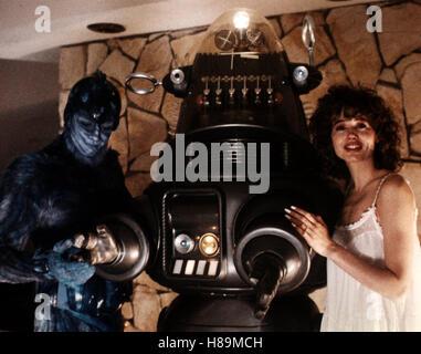 Mein Liebhaber vom anderen Stern, (EARTH GIRLS ARE EASY), USA 1989 Regie: Julien Temple, JEFF GOLDBLUM, GEENA DAVIS Stichwort: Roboter