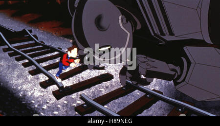 Der Gigant aus dem All, (THE IRON GIANT) USA 1999, Regie: Brad Bird - Stock Photo