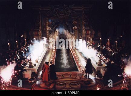 Vatel, (VATEL) F-GB 2000, Regie: Roland Joffe, Szene, Stichwort: Feuerwerk, Wasserspiele - Stock Photo