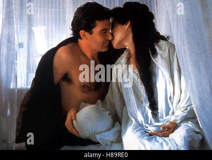 Original Sin, (ORIGINAL SIN) USA 2001, Regie: Michael Cristofer, ANTONIO BANDERAS, ANGELINA JOLIE Stichwort: Paar, - Stock Photo
