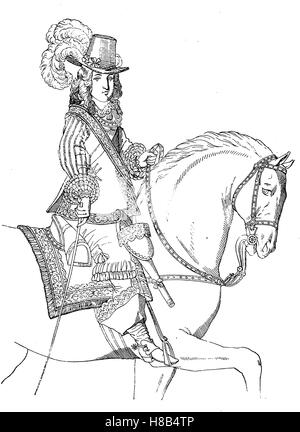 Louis XIV (5 September 1638 ? 1 September 1715), known as Louis the Great (Louis le Grand) or the Sun King., im - Stock Photo
