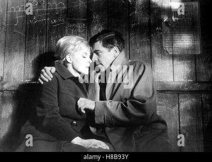 Nur ein Hauch Glueckseligkeit, (A KIND OF LOVING) GB 1961  s/w, Regie: John Schlesinger, JUNE RICHIE, ALAN BATES, - Stock Photo