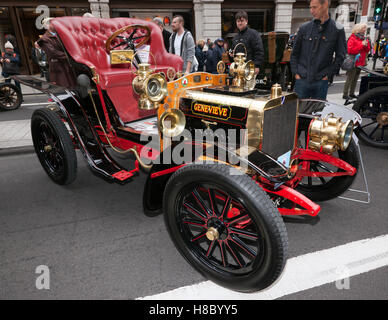 Image of Genevieve, a 1904, Darracq, famous for staring in the British comedy film, of the same name. - Stock Photo