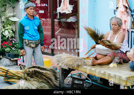 Everyday life of Thai people in Hua Hin Thailand - Stock Photo