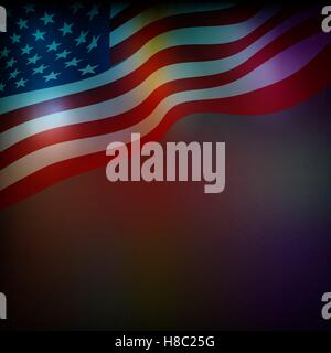 Abstract background for 4th of July Independense Day - Stock Photo