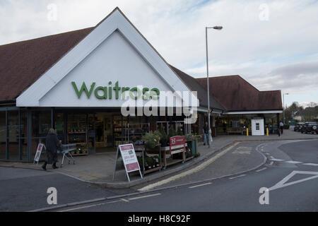 Waitrose supermarket in Gillingham Dorset, UK - Stock Photo