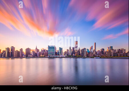 New York City skyline. - Stock Photo