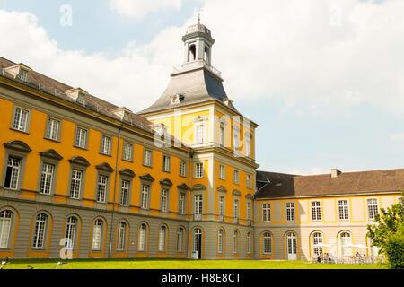 Kurfurstliches Schloss, Elctoral Palace, main building of the University of Bonn, North Rhine Westphalia  Germany, - Stock Photo