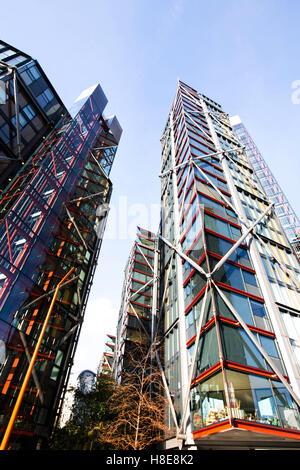 Top End luxury Apartments Southwark London - Stock Photo