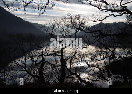 Ullswater, Lake District National Park, Cumbria, England, United Kingdom, Europe - Stock Photo