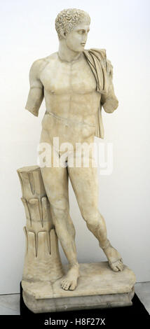 Diomedes from Cuma. Marble. Mid-1st century Ad, a copy of an original from the 2nd half of the 5th century BC. National - Stock Photo