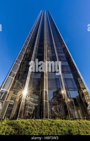 Trump International Hotel and Tower skyscraper. Midtown, Manhattan, New York City - Stock Photo