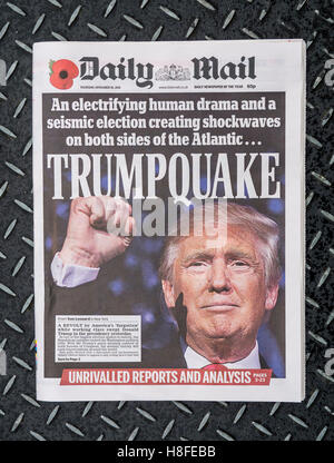 Daily Mail newspaper front page - Stock Photo
