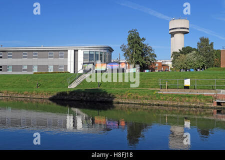 Daresbury research lab & research centre, Warrington, Cheshire, England, UK - Stock Photo