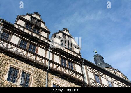 Falkenstein Castle in the Harz - Stock Photo