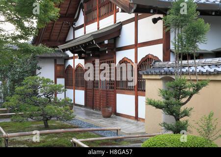 Japan, Kyoto, Daitoku-ji, Korin-in, buddhist temple, - Stock Photo