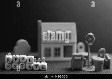 house real estate model - Stock Photo